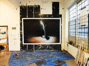 Standing in the spotlight , 2010 , 200 cm x 300 cm